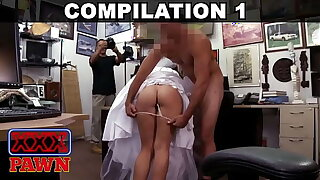 XXX PAWN - Compilation Featuring Mia Sweets, Krystle Jayes, Abby Flesh-coloured & More