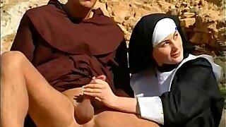 Altar boys  and nuns have sex...anal