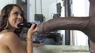 Kristina Scallop Interracial Anal Sex
