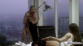 TROPHY WIFE REMY LACROIX ANALLY PUNISHED Lend Will not hear of HUSBAND'S SECRETARY - Featuring: Remy Lacroix / Steven St. Croix