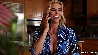 Desperate Busty Housewife Alexis Fawx Banged By Contruction Worker