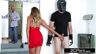 Bored Housewife Samantha Saint Gets Busy with her Two-faced Brother-in-Law