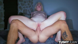 TUSHYRAW, Blonde MILF craves anal all day and murk
