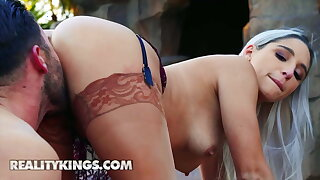 Hot Abella Danger Gets Fucked in front Pool And Beach